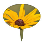 Blooming Black Eyed Susan Cake Topper
