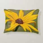 Blooming Black Eyed Susan Decorative Pillow