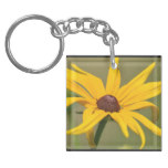 Blooming Black Eyed Susan Keychain