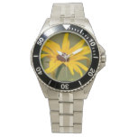 Blooming Black Eyed Susan Wristwatch