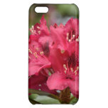 Blooming Red Rhododendron Blossoms Flowering Case For iPhone 5C