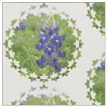 Blue Lupine Fabric