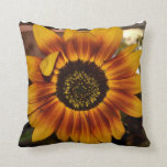 Brilliant Sunflower Throw Pillow