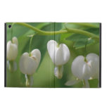 Delicate White Bleeding Heart Cover For iPad Air