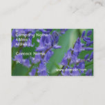 Dew on Bell Flowers Business Card