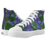 Dew on Bell Flowers High-Top Sneakers