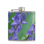 Dew on Bell Flowers Hip Flask