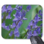 Dew on Bell Flowers Mouse Pad
