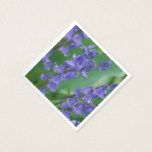 Dew on Bell Flowers Paper Napkin
