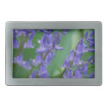 Dew on Bell Flowers Rectangular Belt Buckle