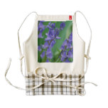 Dew on Bell Flowers Zazzle HEART Apron