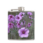 Field of Geraniums Flask