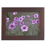 Field of Geraniums Keepsake Box