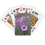 Field of Geraniums Playing Cards