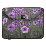 Field of Geraniums Sleeve For MacBooks