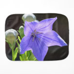 Flowering Balloon Flowers Burp Cloth