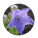 Flowering Balloon Flowers Dart Board