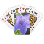 Flowering Balloon Flowers Playing Cards