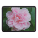 Flowering Pink Camelia Tow Hitch Cover