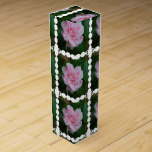 Flowering Pink Camelia Wine Box