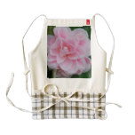 Flowering Pink Camelia Zazzle HEART Apron