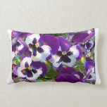 Pansies Pillow
