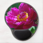 Peony Flowers Gel Mouse Pad