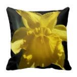 Perfect Daffodil Throw Pillow