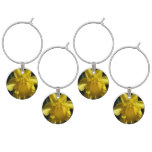 Perfect Daffodil Wine Glass Charm