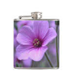 Perfect Geranium Hip Flask
