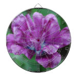 Perfectly Purple Parrot Tulip Dartboard