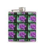 Perfectly Purple Parrot Tulip Flask