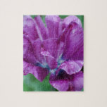 Perfectly Purple Parrot Tulip Jigsaw Puzzle