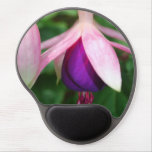 Pink and Purple Fuchsia Gel Mouse Pad