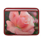 "Pink Rose 13"" MacBook Sleeve"