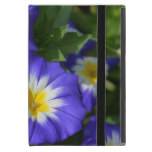 Pretty Blue Ensign Morning Glories iPad Mini Cover