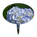 Pretty Flowering Hydrangea Flowers in Bloom Cake Topper