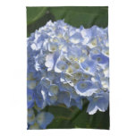 Pretty Flowering Hydrangea Flowers in Bloom Kitchen Towel