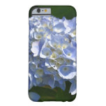 Pretty Light Blue Hydrangea Flowers Barely There iPhone 6 Case