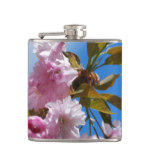 Pretty Pink Cherry Tree Flask