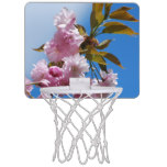 Pretty Pink Cherry Tree Mini Basketball Backboard