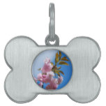 Pretty Pink Cherry Tree Pet ID Tag