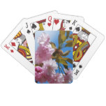 Pretty Pink Cherry Tree Playing Cards