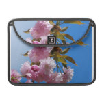 Pretty Pink Cherry Tree Sleeve For MacBook Pro