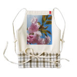 Pretty Pink Cherry Tree Zazzle HEART Apron