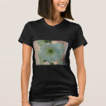 Pretty White Hollyhock T-Shirt
