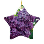 Purple Lilacs Ornament