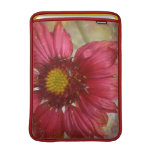 "Red Gaillardia 13"" MacBook Sleeve"