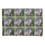 Striped Crocus Pillow Case