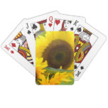 Sunflowers in Bloom Playing Cards